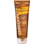 Brown Exotic Funatic Dark Bronzing Lotion 125ml